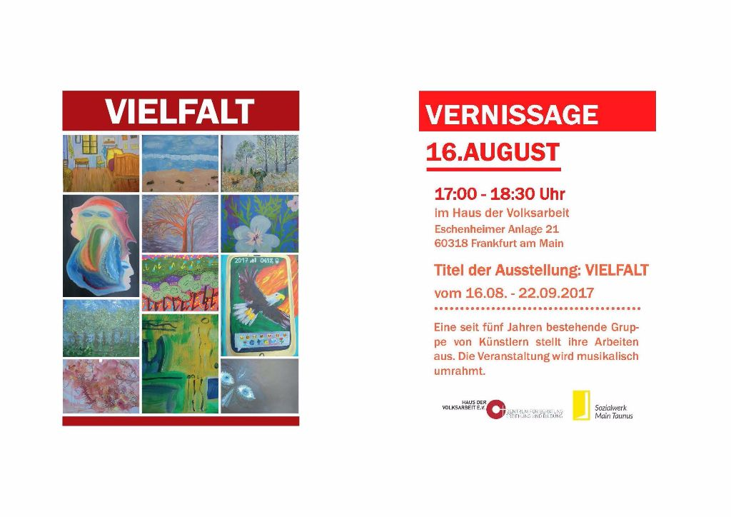Vernissage Vielfalt